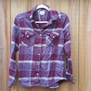 RVCA flannel button down